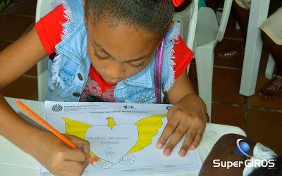 Los niños del Chocó pintan por la Paz