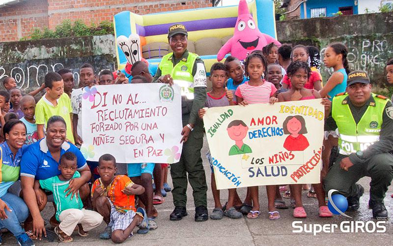 Prevención del reclutamiento forzado en Tadó